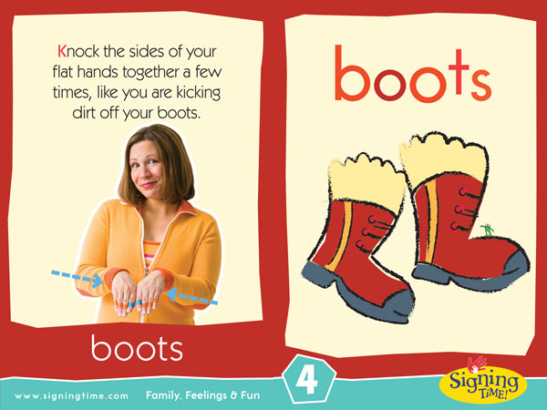 Boots American Sign Language Dictionary