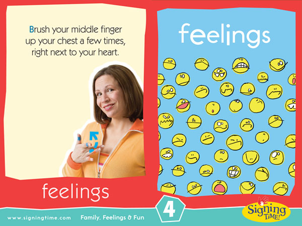 Feeling Baby Sign Language ASL Dictionary USA